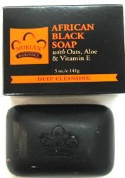 Nubian Heritage Африканское чёрное мыло 141г.