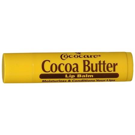 Cococare Увлажняющий и регенерирующий бальзам для губ на 100% масле какао