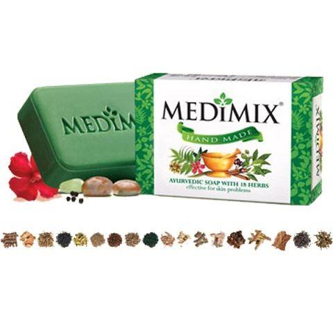Medimix Cholayil Аюрведическое травяное мыло 18 трав  125г