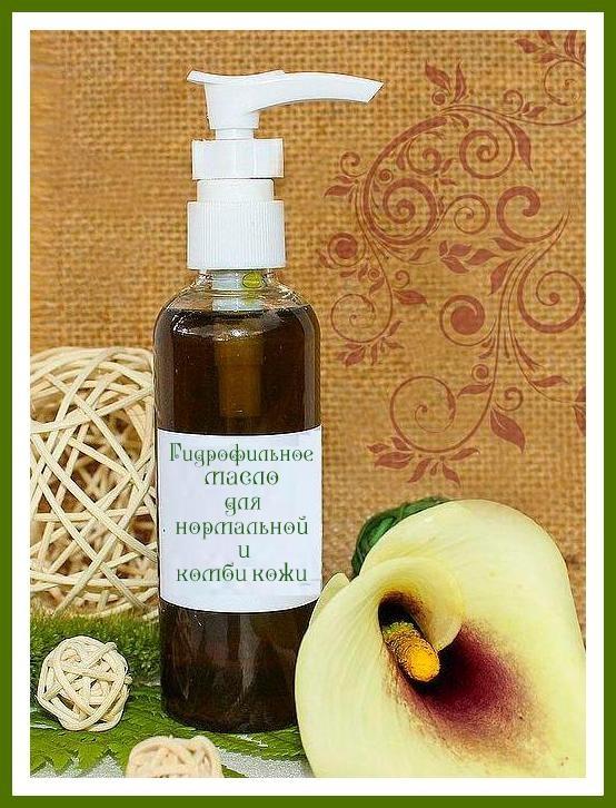 Bio-Viktorika Гидрофильное масло для умывания нормальной и комби кожи