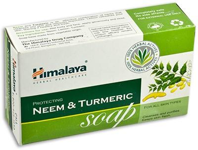Himalaya  Индийское антисептическое мыло neem & turmeric 125г