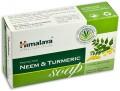Индийское антисептическое мыло neem & turmeric 125г
