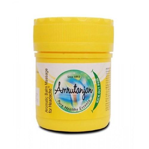 Amrutanjan Обезболивающий бальзам Амрутанжан, Amrutanjan Pain Balm желтый, 9мл