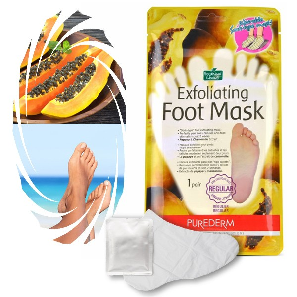 Purederm (Корея) Пилинг-носочки для ног Exfoliating Foot Mask 1 пара
